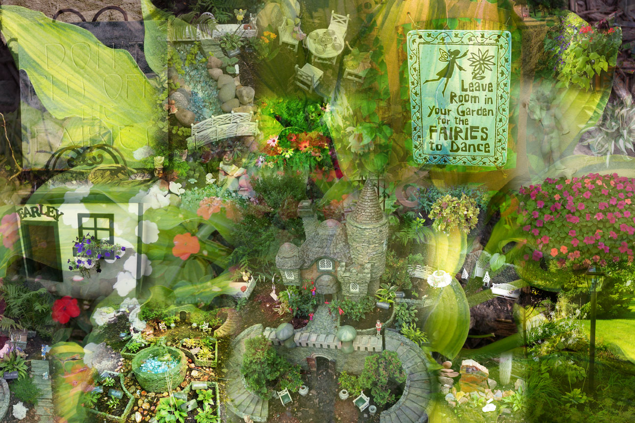 Brommel Fairy Garden Collage