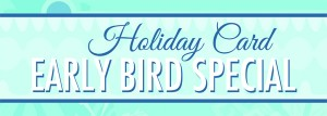 Early Bird Holiday Collage Card