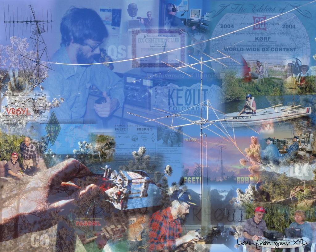 Amateur Radio photo collage