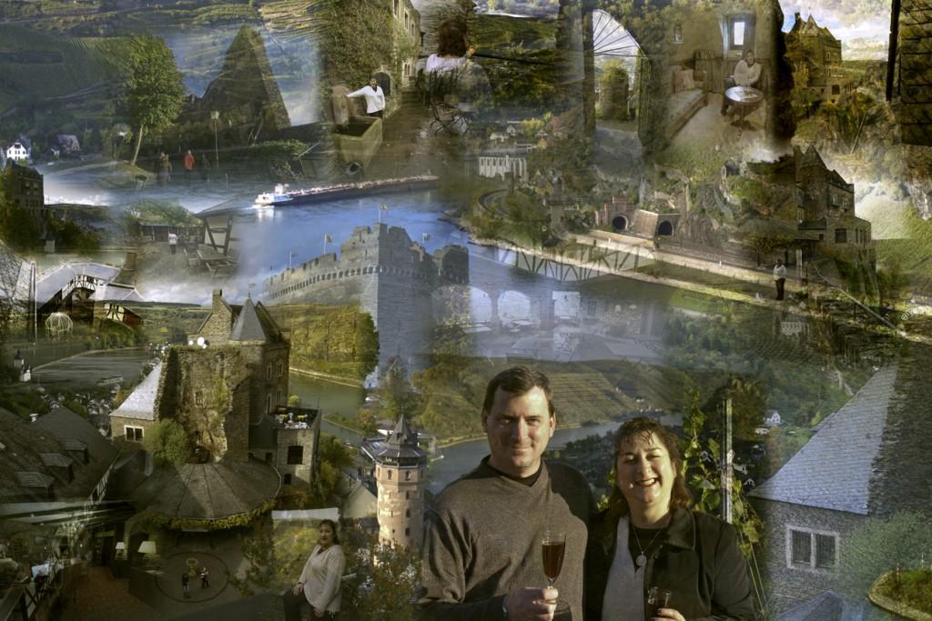 Schoenburg vacation collage